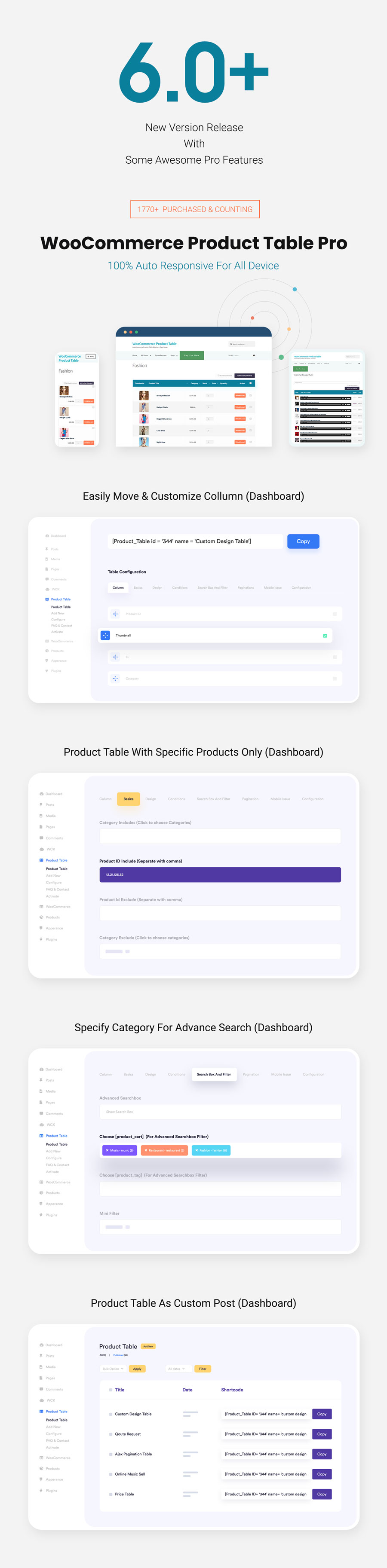Woo Product Table Pro - WooCommerce Product Table view solution - 7