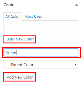 input color name