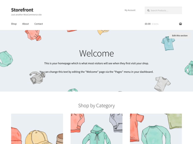 Storefront Theme