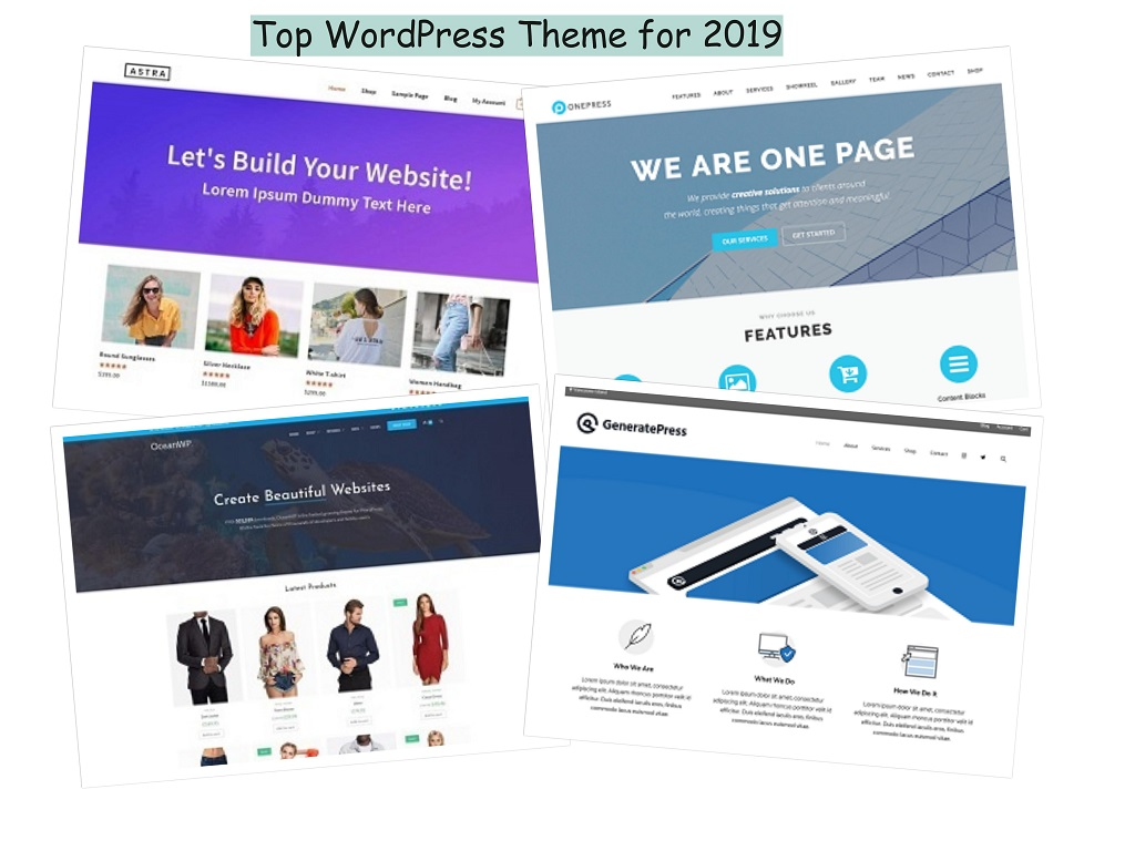 Top 15 Free WordPress Themes for 2019