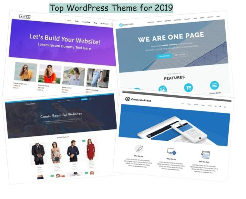 top 15 free wordpress themes 2019