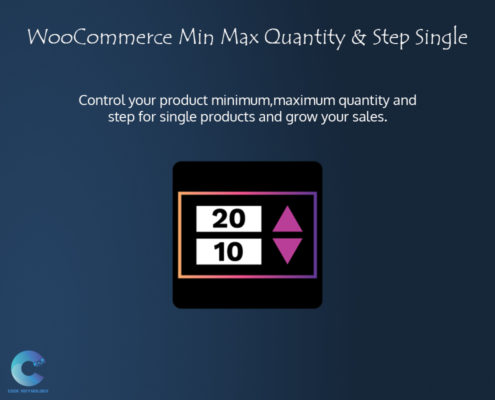 WooCommerce Min Max Quantity and step for single product