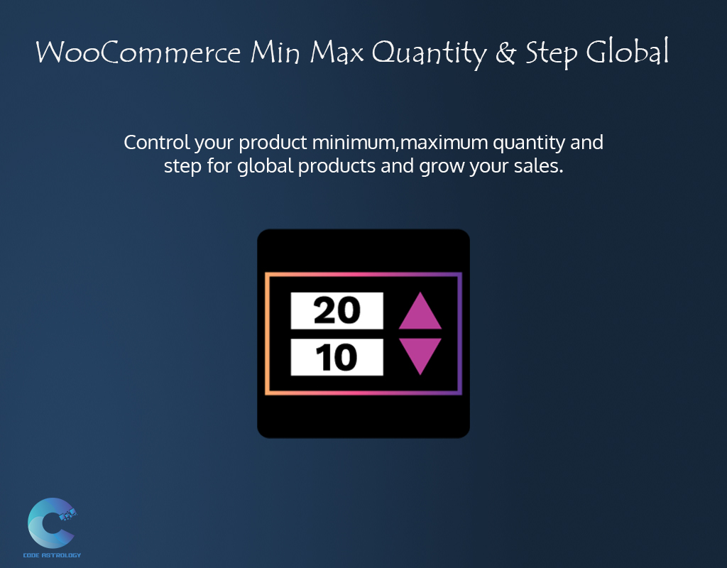 How to Control WooCommerce Min Max Quantity & Step for Global Products