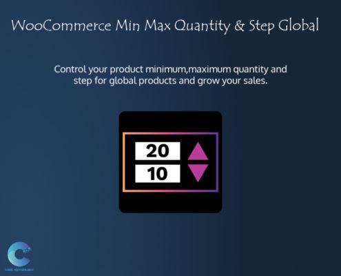 WooCommerce Min Max Quantity & Step
