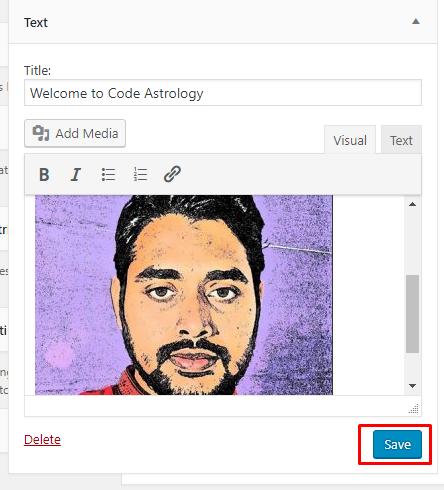 Save Image Widget