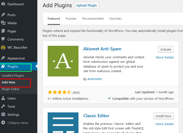 How to Install Wordpress Plugins : Code Astrology