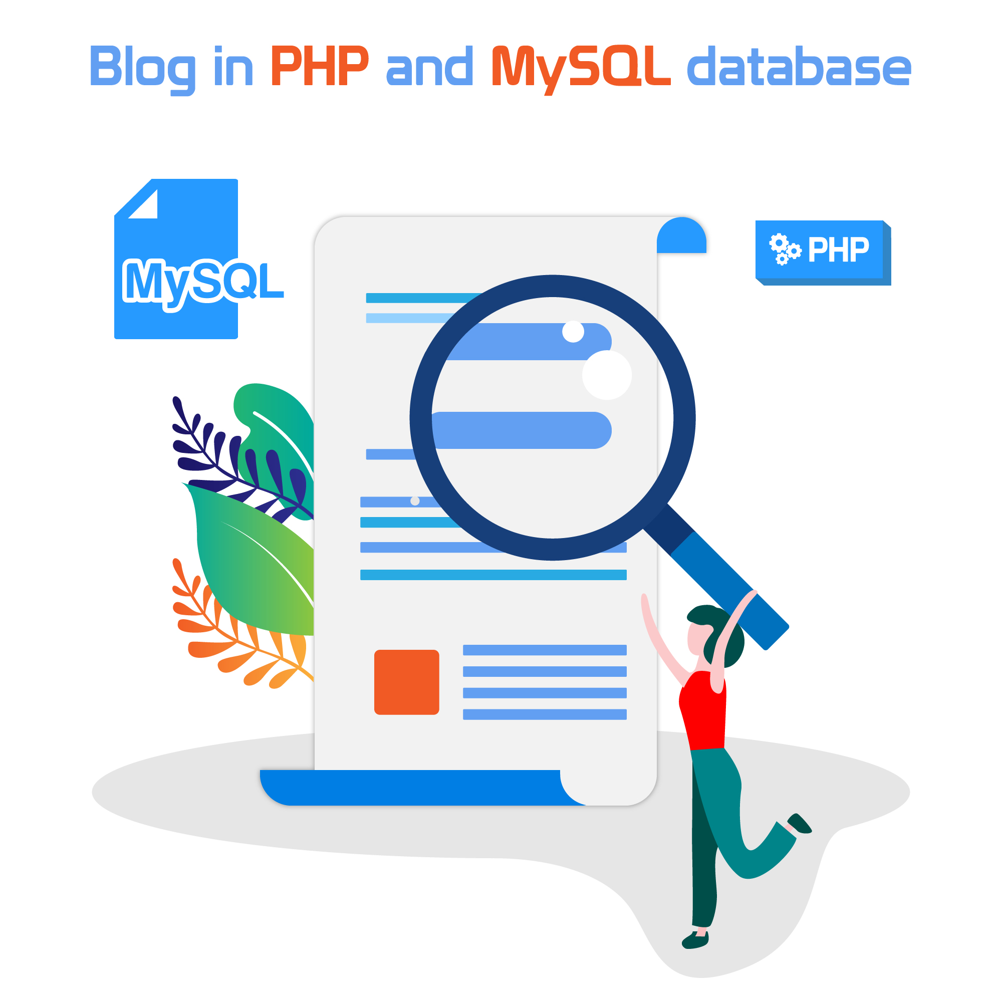 How to create a blog in PHP and MySQL database